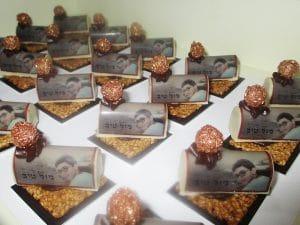 מיתוג על שוקולד של מירל תכשיטי שוקולד וקונדטוריית בוטיק MIREL