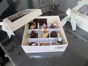 מארזי יוקרה של שוקולדים ופטיפורים של מירל MIREL