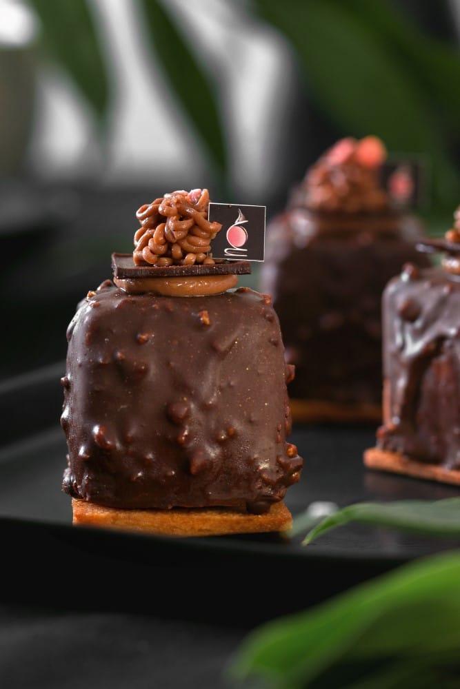 קינוח מוס שוקולד של MIREL מירל.